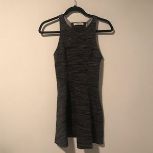 Abercrombie heather gray neoprene dress